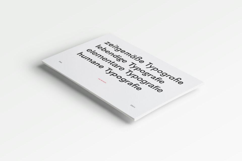Karsten Rohrbeck: Typografie