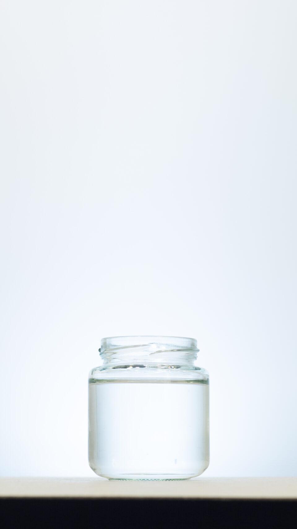 Gefäß Weiß 08