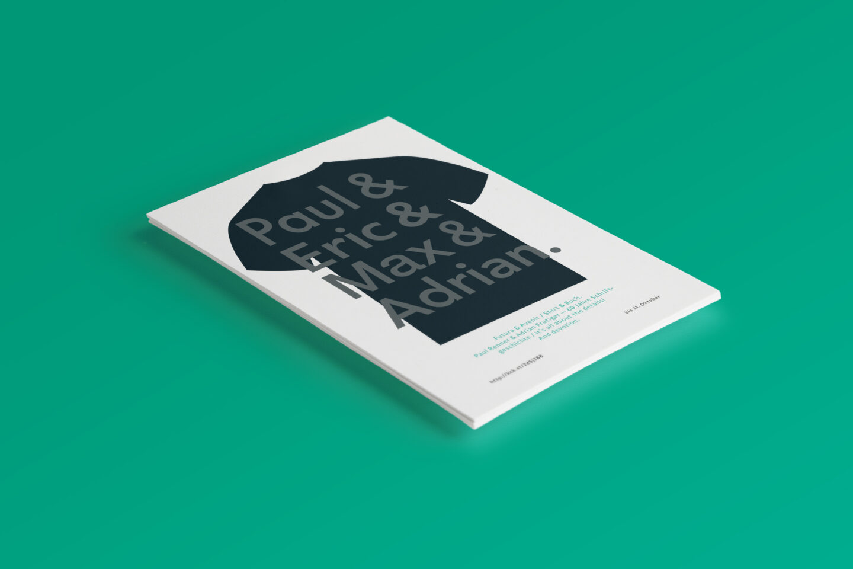 Karsten Rohrbeck: Flyer ›Futura & Avenir‹ S1