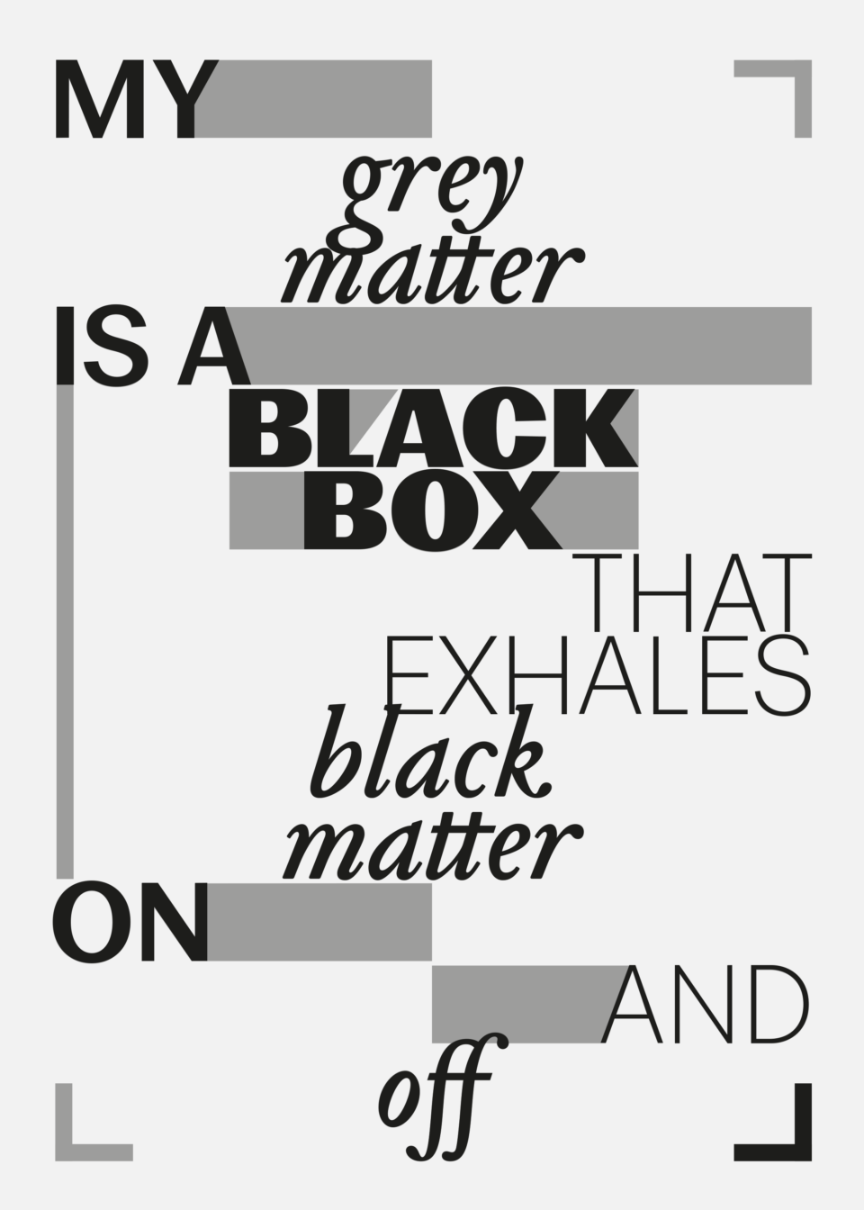 Karsten Rohrbeck: Grey Matter Poster