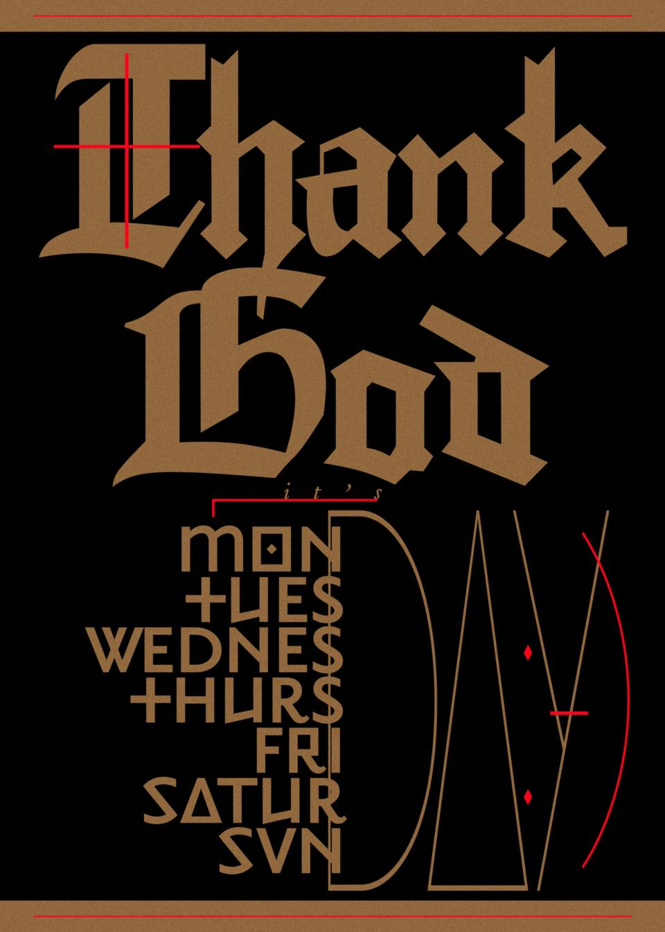 Karsten Rohrbeck: TGIMTWTFSS dark Poster