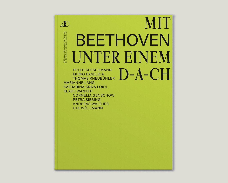 Büro Gestalten: Kunstkatalog Beethoven Ausstellungskatalog Cover Titel