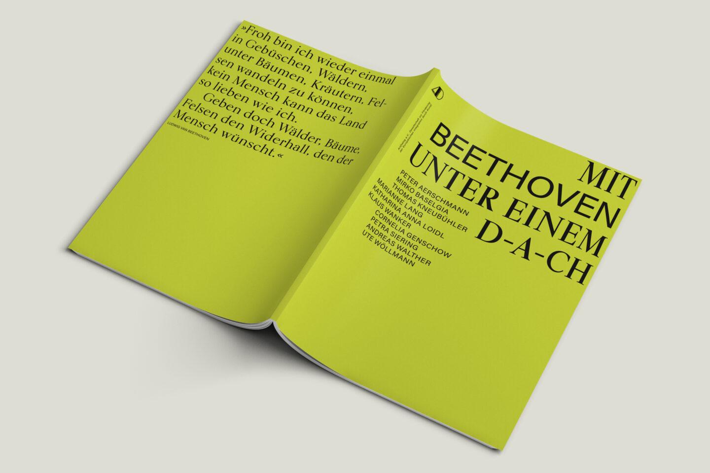Büro Gestalten: Kunstkatalog Beethoven Ausstellungskatalog Umschlag