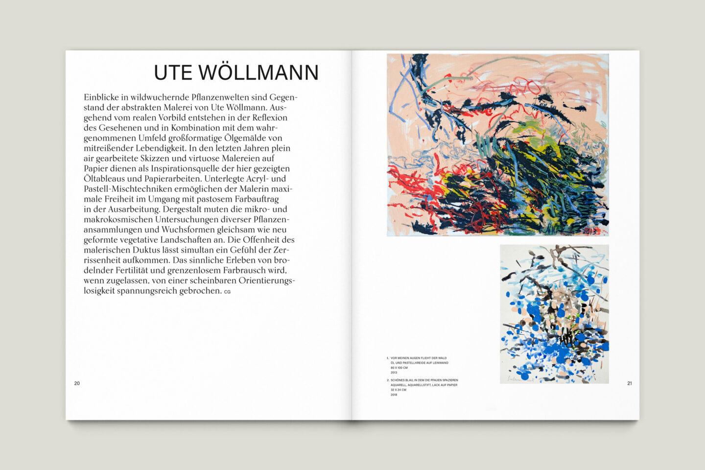 Büro Gestalten: Kunstkatalog Beethoven Ausstellungskatalog Innenseite 20-21