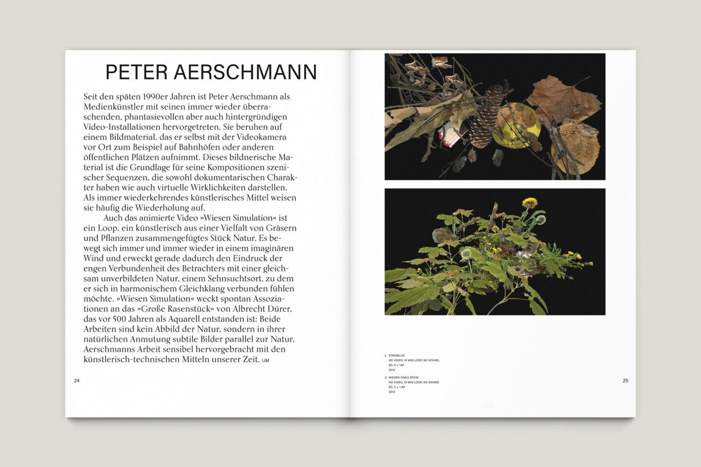 Büro Gestalten: Kunstkatalog Beethoven Ausstellungskatalog Innenseite 24-25