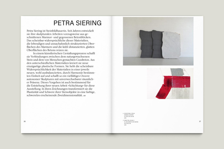 Büro Gestalten: Kunstkatalog Beethoven Ausstellungskatalog Innenseite 26-27