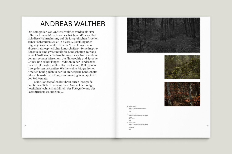 Büro Gestalten: Kunstkatalog Beethoven Ausstellungskatalog Innenseite 30-31