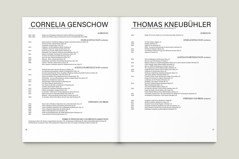 Büro Gestalten: Kunstkatalog Beethoven Ausstellungskatalog Innenseite 36-37