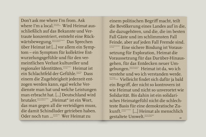 Büro Gestalten: KUBI Magazin Ausgabe 16 Typografie Zitate