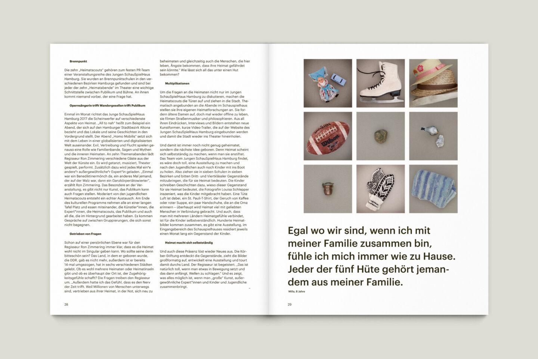 Büro Gestalten: KUBI Magazin Ausgabe 16 Artikel Bild Layout