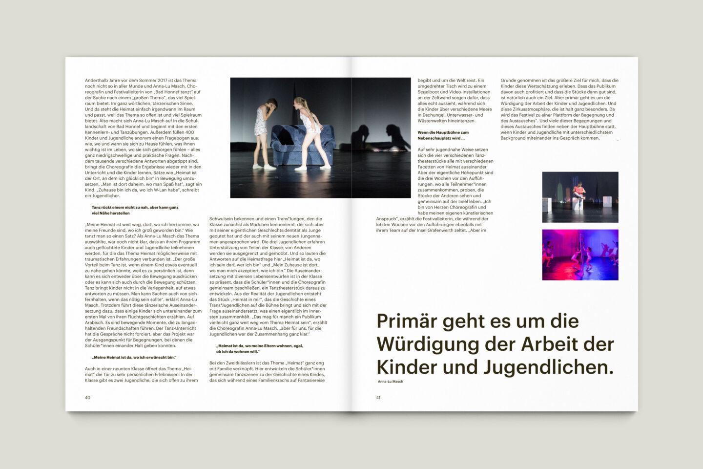 Büro Gestalten: KUBI Magazin Ausgabe 16 Artikel Layout