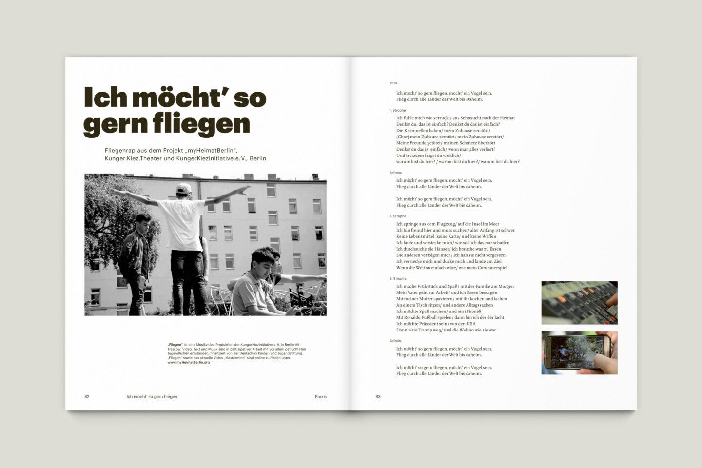 Büro Gestalten: KUBI Magazin Ausgabe 16 Liedtext Lyrics