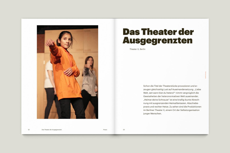 Büro Gestalten: KUBI Magazin Ausgabe 17 Editorial Bildstrecke