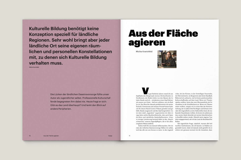 Büro Gestalten: KUBI Magazin Ausgabe 18 Editorial Essay