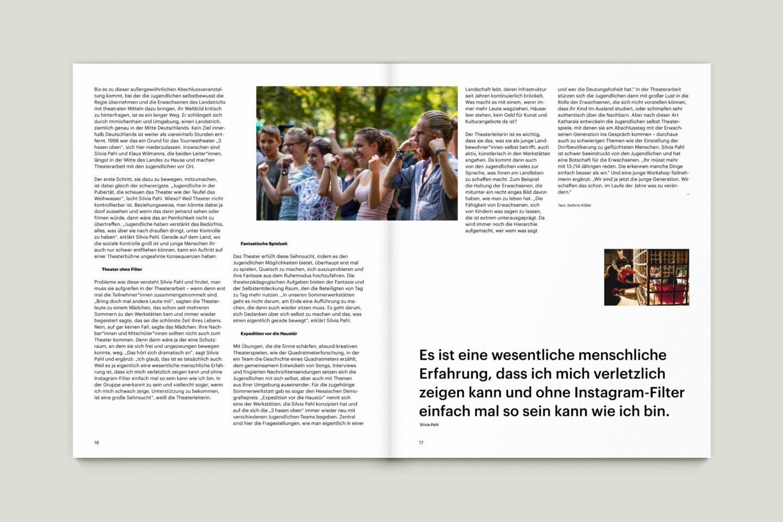 Büro Gestalten: KUBI Magazin Ausgabe 18 Artikel Layout