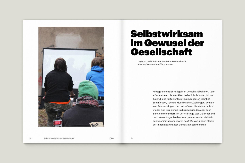 Büro Gestalten: KUBI Magazin Ausgabe 18 Editorial Bildstrecke