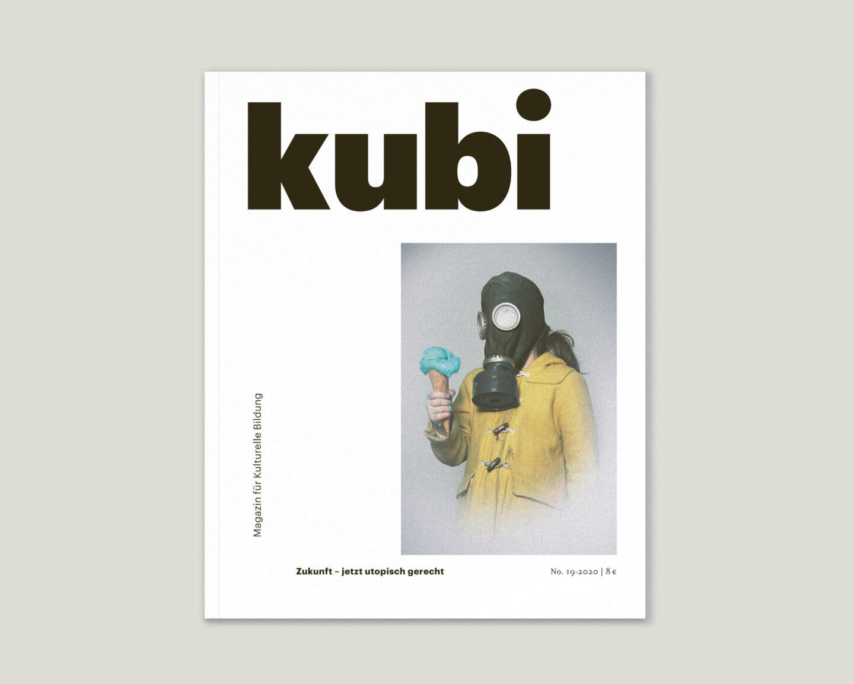 Büro Gestalten: Magazin KUBI Ausgabe 19 Cover Titel