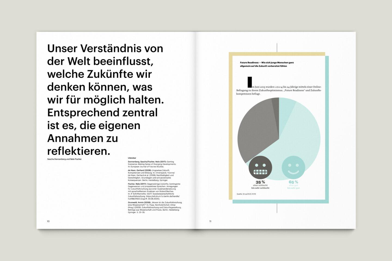 Büro Gestalten: KUBI Magazin Ausgabe 19 Informationsgrafik Diagramm