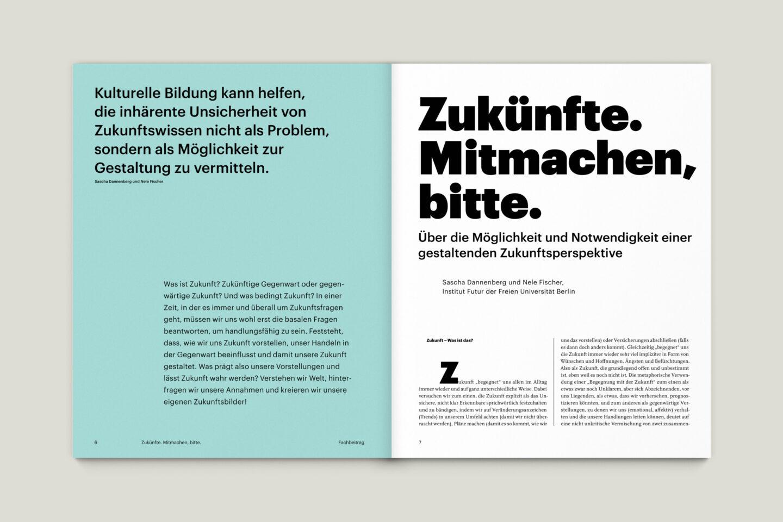 Büro Gestalten: KUBI Magazin Ausgabe 19 Editorial Fachbeitrag