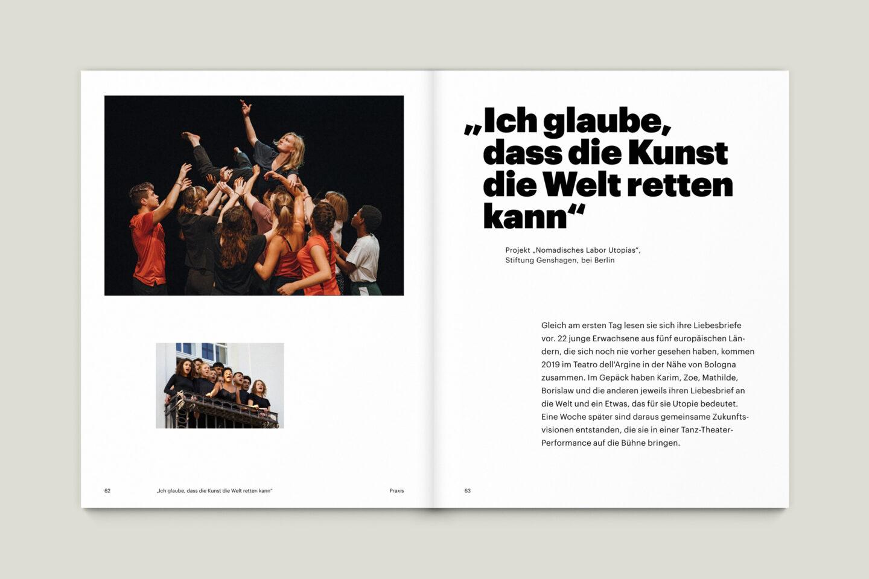 Büro Gestalten: KUBI Magazin Ausgabe 19 Editorial Bildstrecke