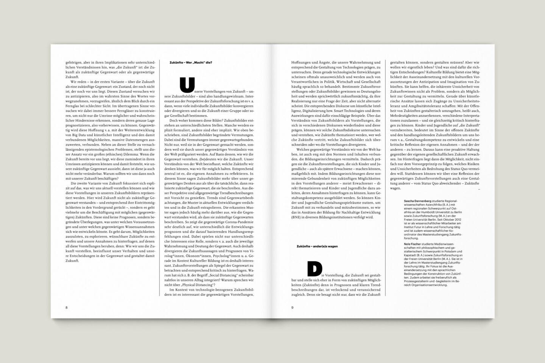 Büro Gestalten: KUBI Magazin Ausgabe 19 Typografie Initiale