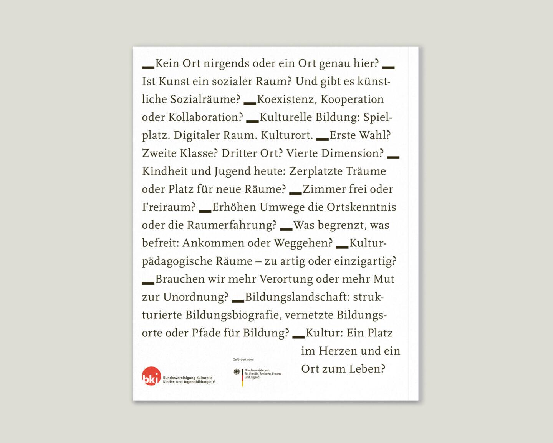 Büro Gestalten: KUBI Magazin Ausgabe 20 Zitate Back Rückseite