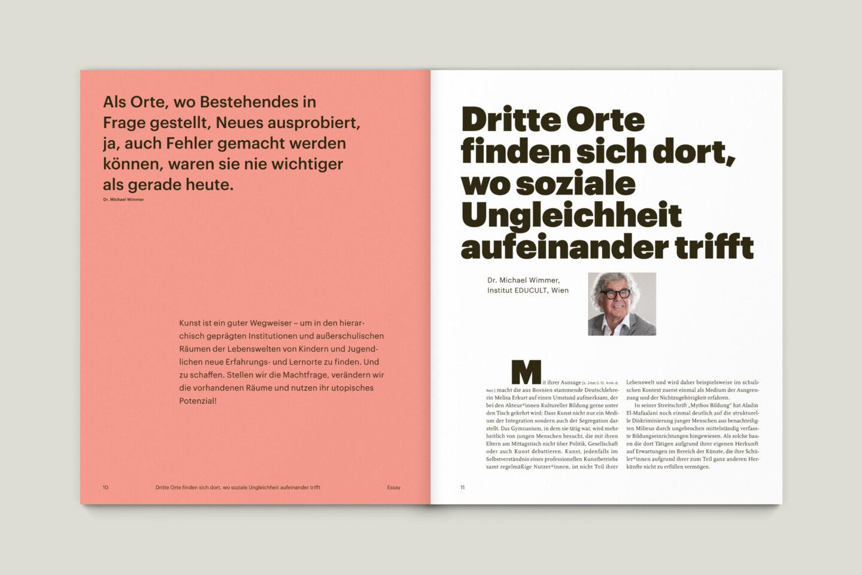 Büro Gestalten: KUBI Magazin Ausgabe 20 Editorial Essay