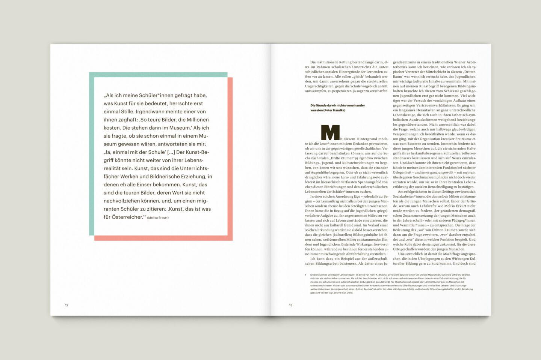 Büro Gestalten: KUBI Magazin Ausgabe 20 Typografie Kommentar
