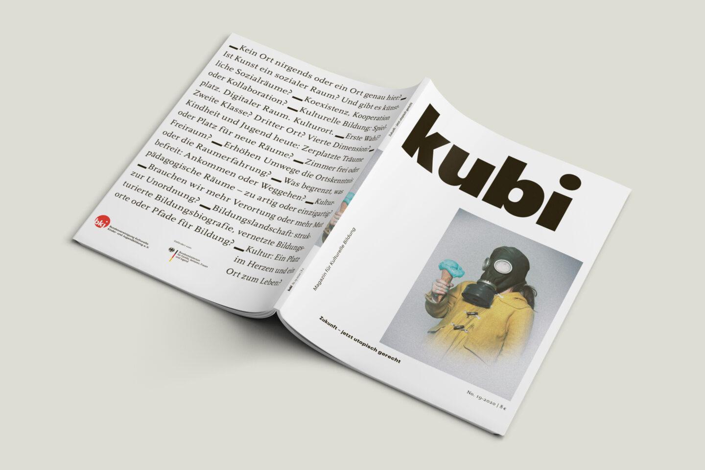 Büro Gestalten: Magazin KUBI Ausgabe 19 Umschlag