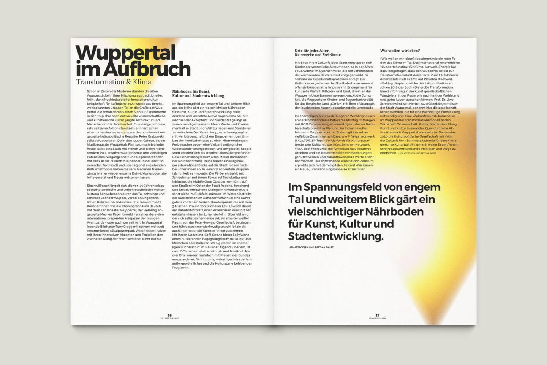Büro Gestalten: Zeit für Zukunft – Sonderpublikation der Kulturpolitischen Gesellschaft Bonn anlässlich der gleichnamigen Summerschool 2020, S. 16–17