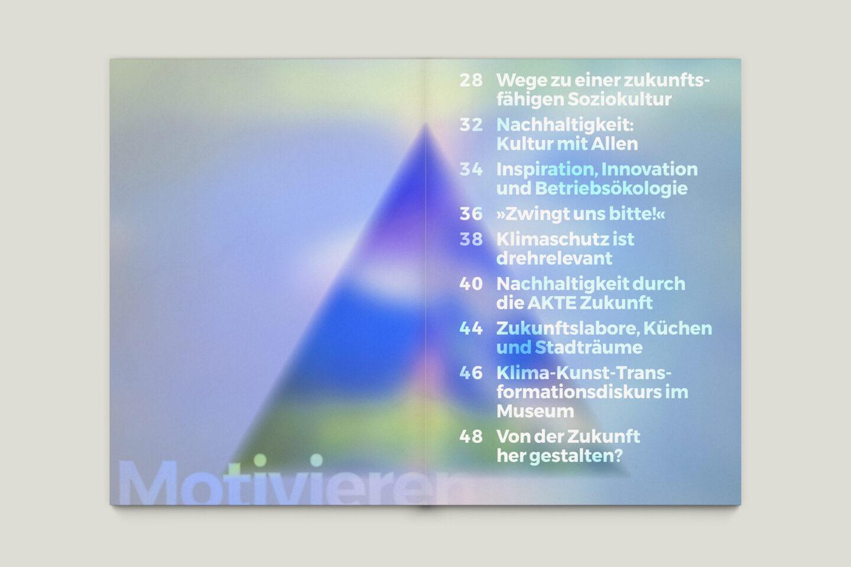 Büro Gestalten: Zeit für Zukunft – Sonderpublikation der Kulturpolitischen Gesellschaft Bonn anlässlich der gleichnamigen Summerschool 2020, S. 26–27