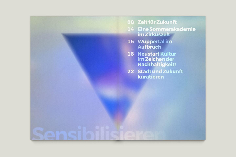 Büro Gestalten: Zeit für Zukunft – Sonderpublikation der Kulturpolitischen Gesellschaft Bonn anlässlich der gleichnamigen Summerschool 2020, S. 6–7