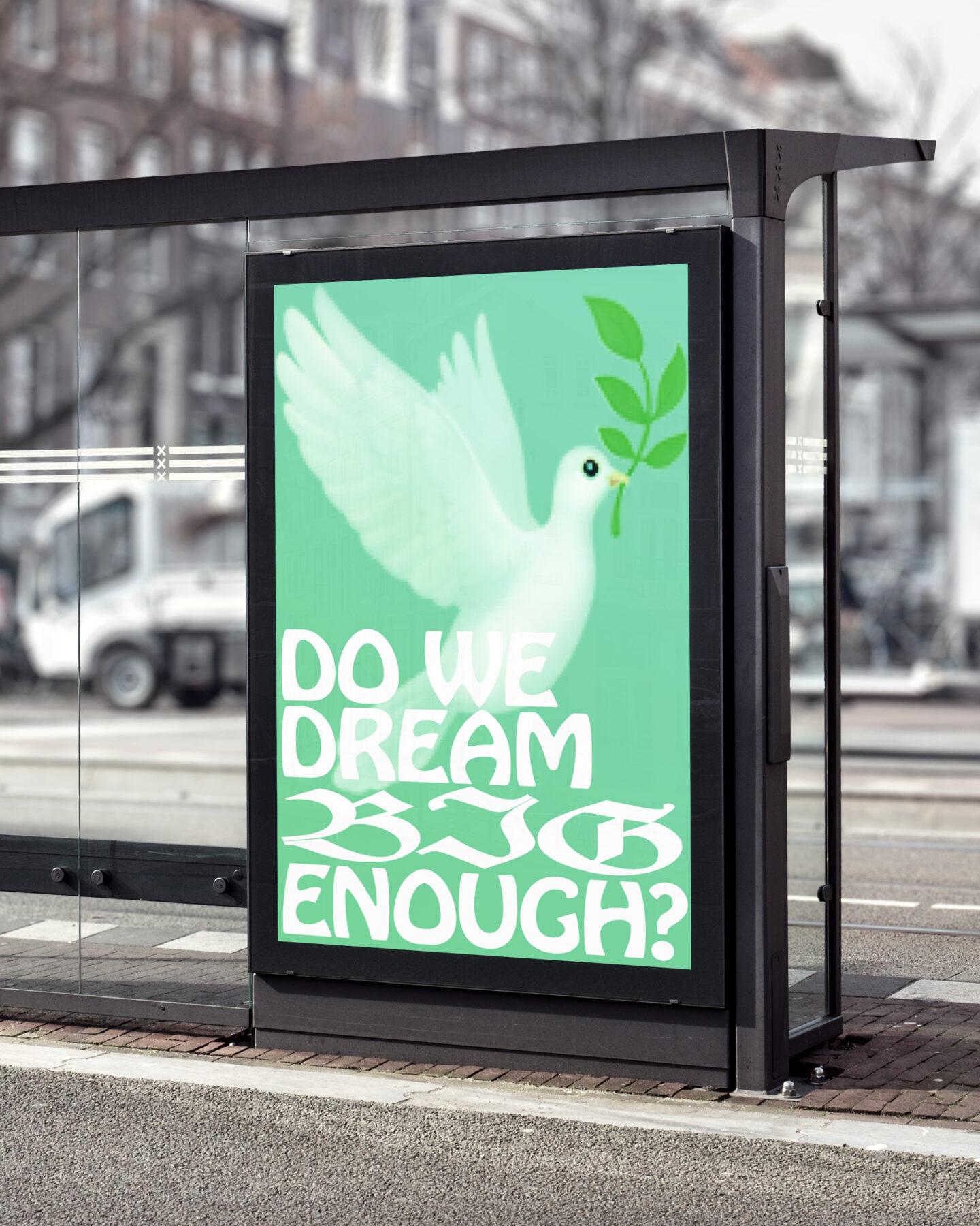 Karsten Rohrbeck: Dream Big Poster (Bus Stop Billboard MockUp 2)