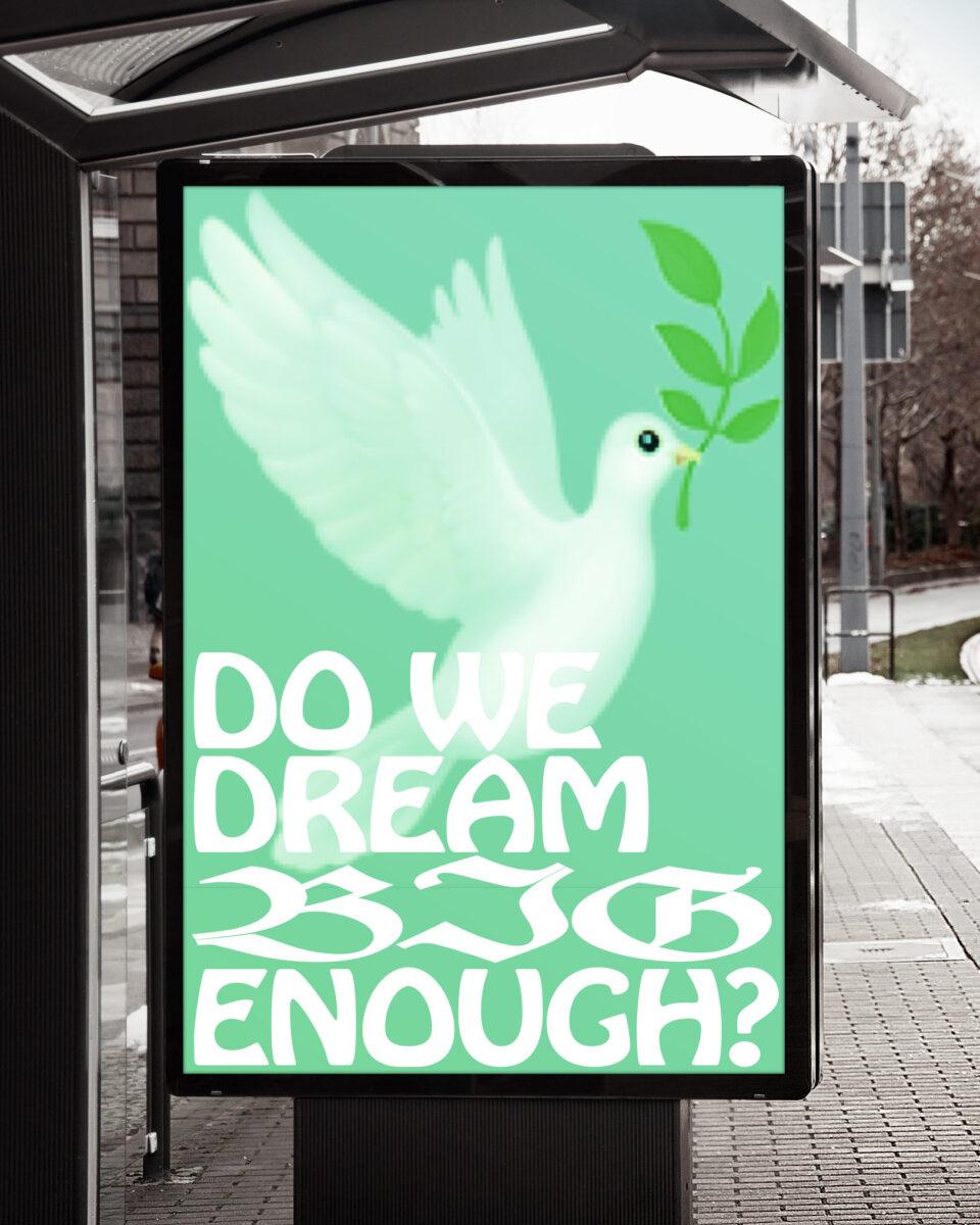Karsten Rohrbeck: Dream Big Poster (Bus Stop Billboard MockUp 1)