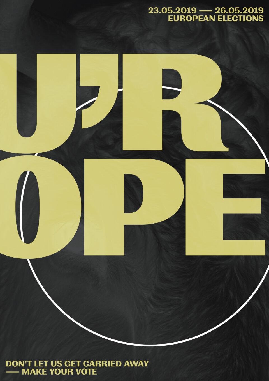 Karsten Rohrbeck: U'ROPE (Poster vII)