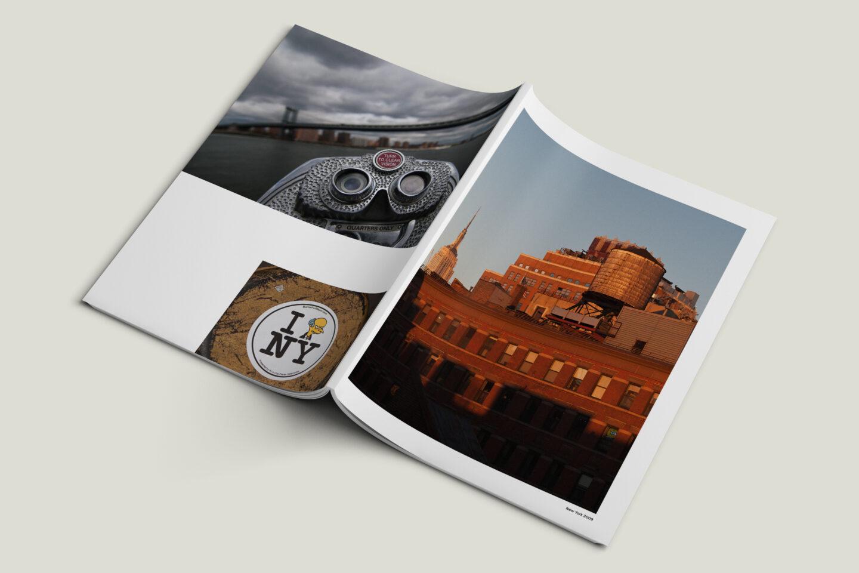 Karsten Rohrbeck: New York '09 Fotobuch Umschlag