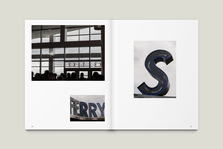 Karsten Rohrbeck: New York '09 Fotobuch Innenseiten 06–07