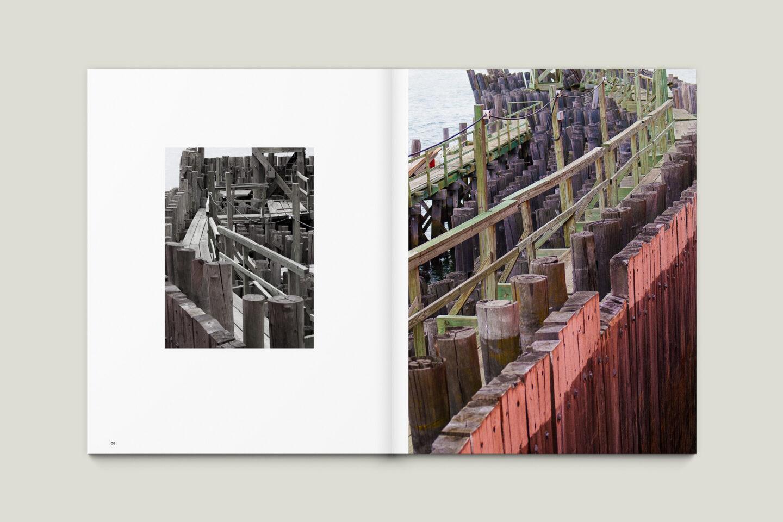 Karsten Rohrbeck: New York '09 Fotobuch Innenseiten 08–09