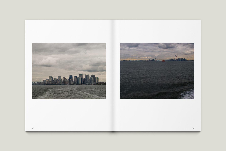 Karsten Rohrbeck: New York '09 Fotobuch Innenseiten 12–13