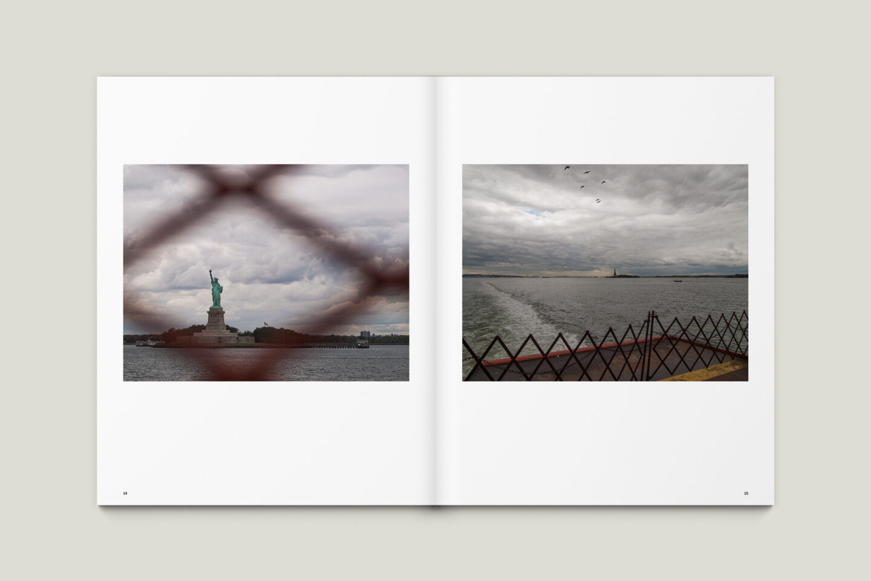 Karsten Rohrbeck: New York '09 Fotobuch Innenseiten 14–15