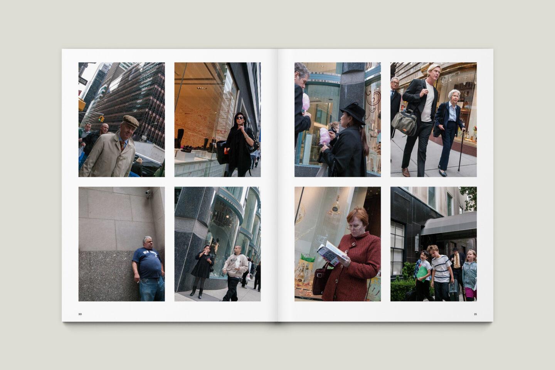 Karsten Rohrbeck: New York '09 Fotobuch Innenseiten 20–21