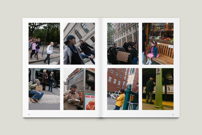 Karsten Rohrbeck: New York '09 Fotobuch Innenseiten 22–23