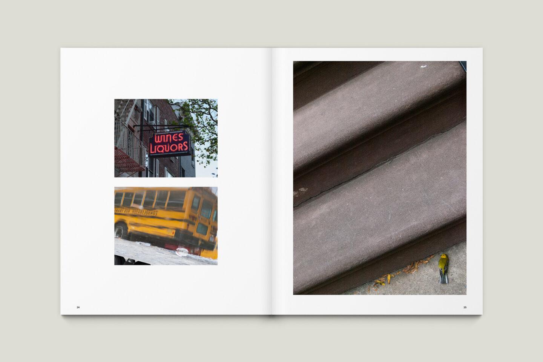 Karsten Rohrbeck: New York '09 Fotobuch Innenseiten 24–25