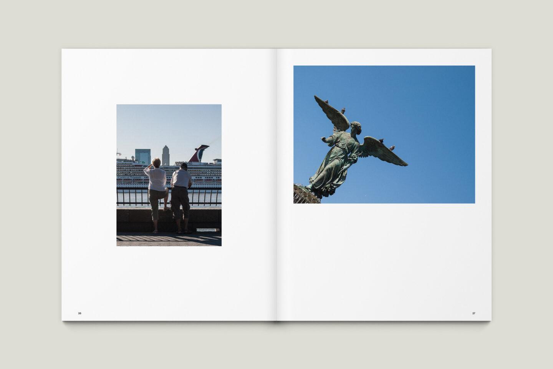 Karsten Rohrbeck: New York '09 Fotobuch Innenseiten 26–27