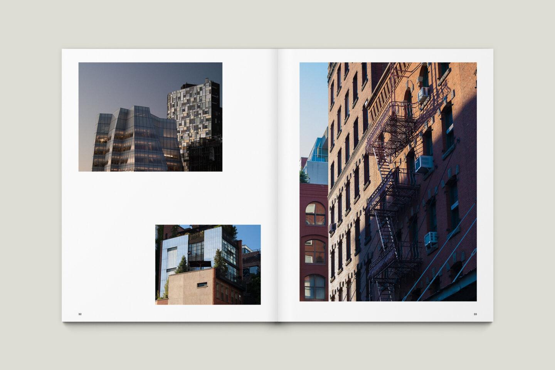 Karsten Rohrbeck: New York '09 Fotobuch Innenseiten 31–33