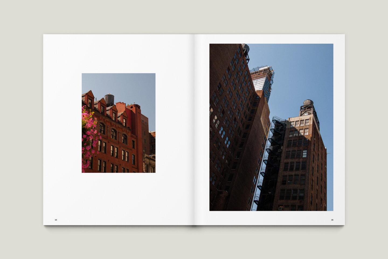 Karsten Rohrbeck: New York '09 Fotobuch Innenseiten 34–35