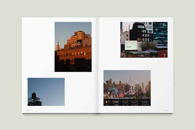 Karsten Rohrbeck: New York '09 Fotobuch Innenseiten 36–37