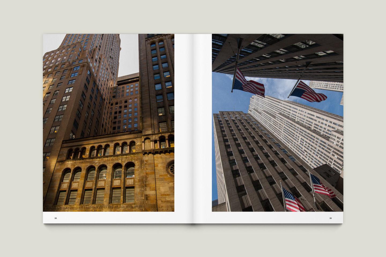 Karsten Rohrbeck: New York '09 Fotobuch Innenseiten 38–39