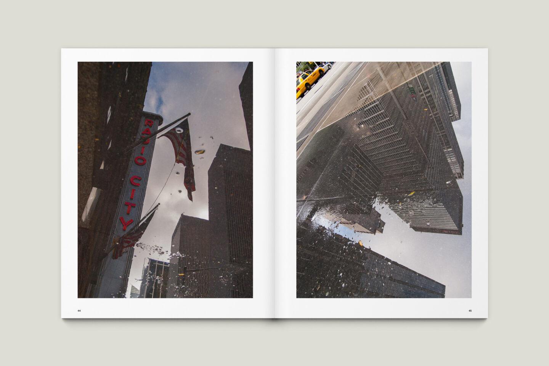 Karsten Rohrbeck: New York '09 Fotobuch Innenseiten 44–45
