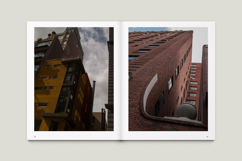Karsten Rohrbeck: New York '09 Fotobuch Innenseiten 48–49